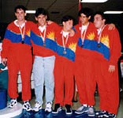 1997 Carabobo's Mens Team