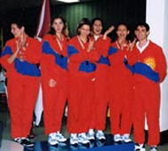 1997 Carabobo's Womens Team